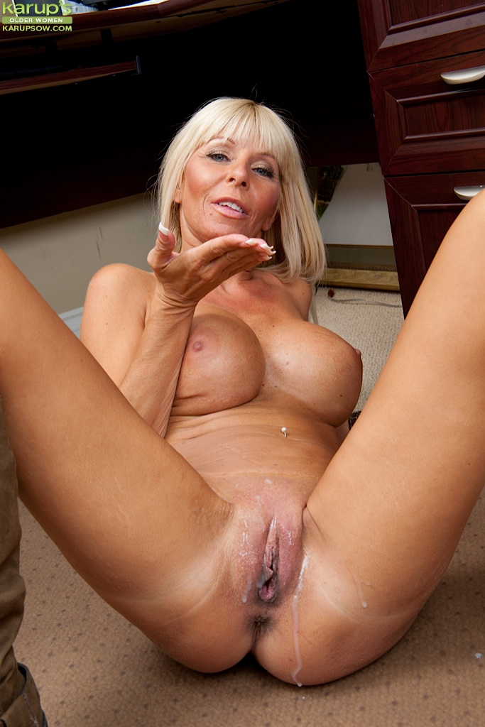 Old milf with piercing pics