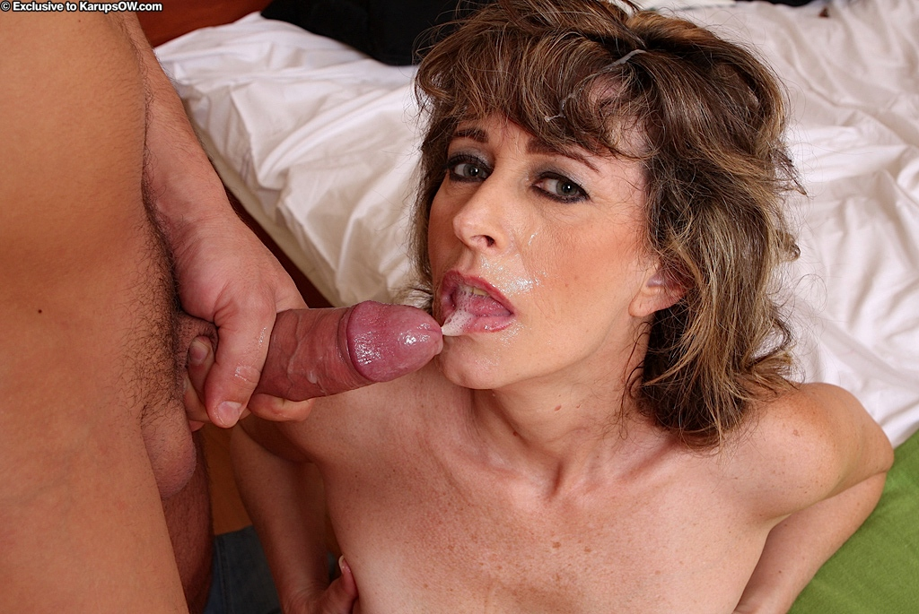 Jizz In Her Mouth