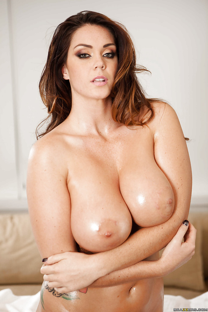 Alison tyler oiled with