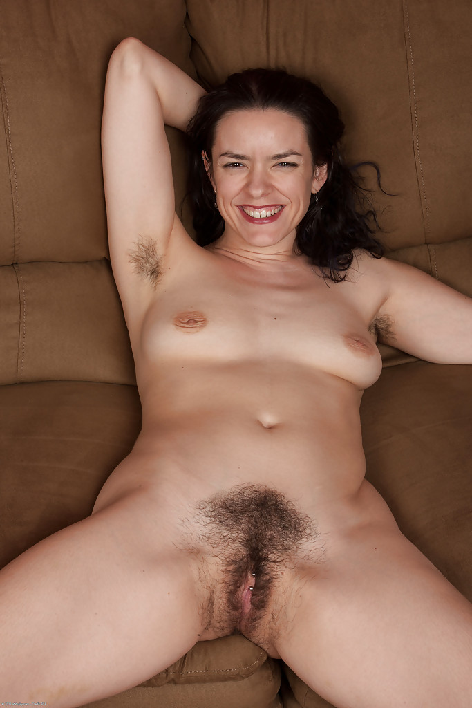 Hairy older woman