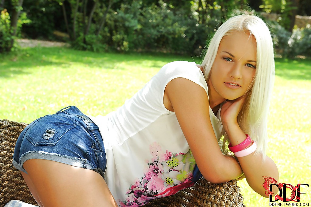 European blonde babe Evelyn gets naked and poses at the open air porn photo #324576534 | Euro Teen Erotica, Evelyn, Ass, Babe, Blonde, Close Up, Clothed, European, Masturbation, Outdoor, Panties, Pussy, Shorts, Tattoo, Teen, mobile porn