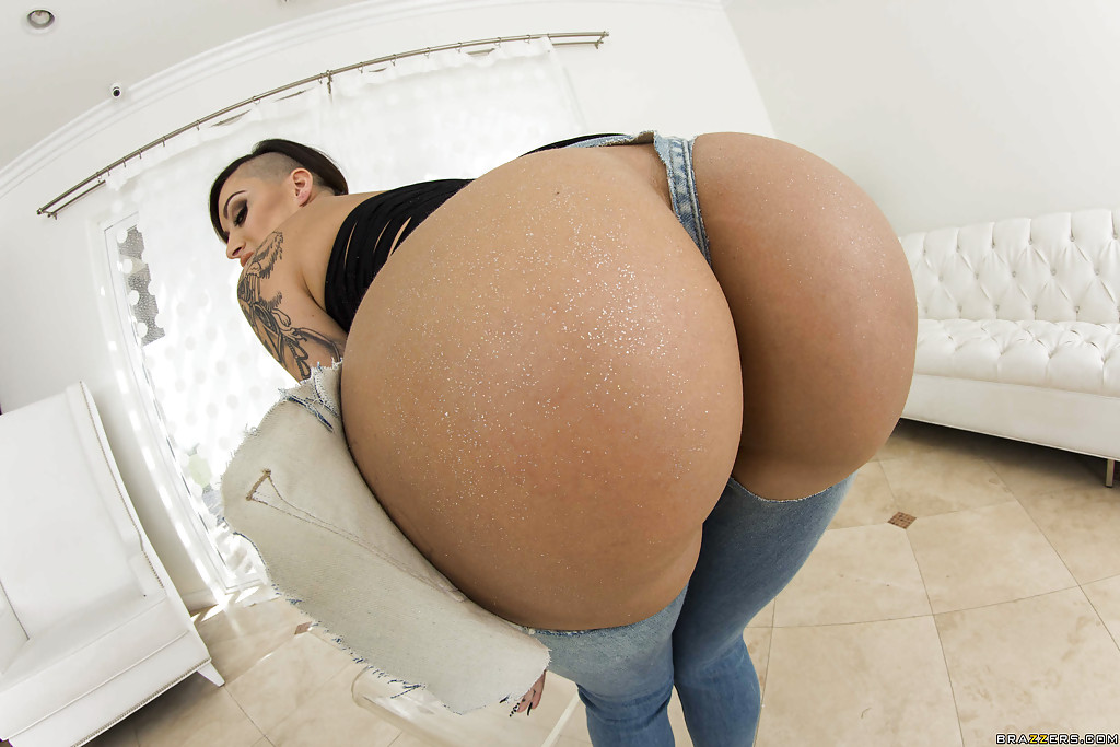 image Big butt alby rydes gets oiled and ass fucked