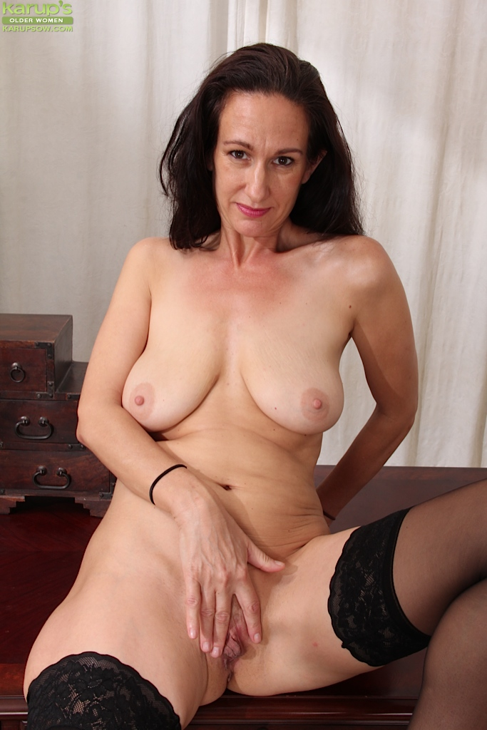 Think, mature woman undressing