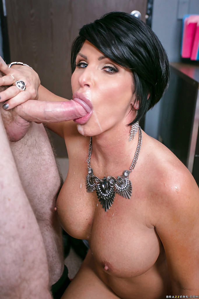 Short hair milf sex