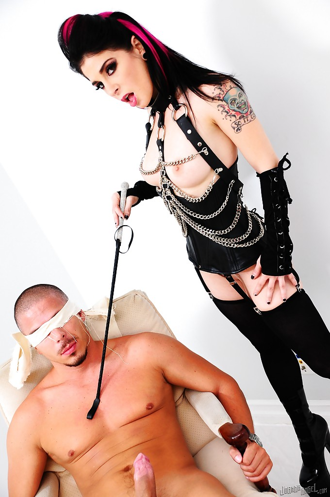 Sub slut joanna gets another rough facefuck and pounding 4