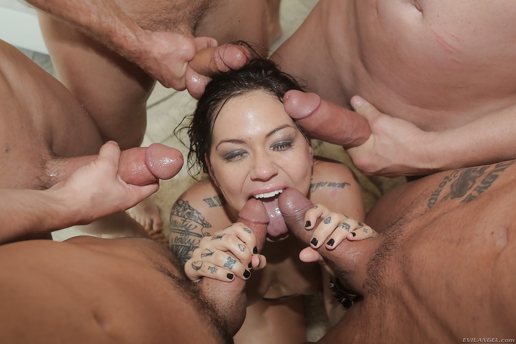 Not absolutely gang bang cum in her mouth suggest you