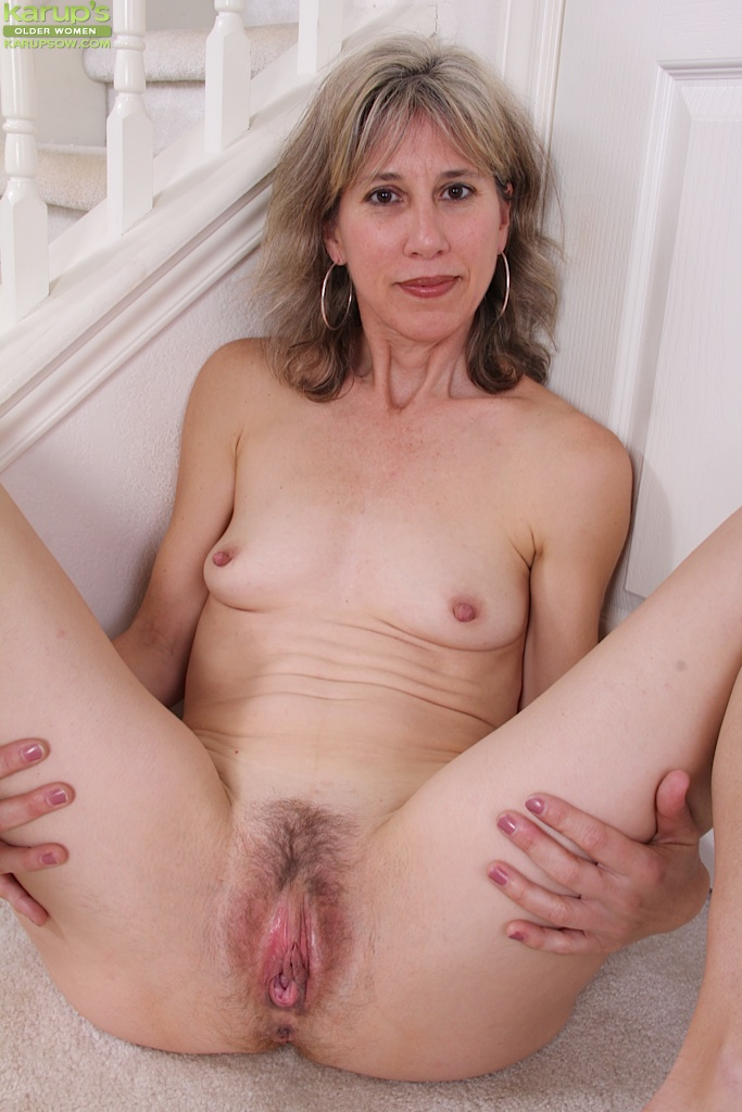 Join Mature hairy spread open pussy above told