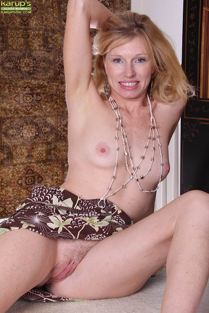 Blonde mature bitch