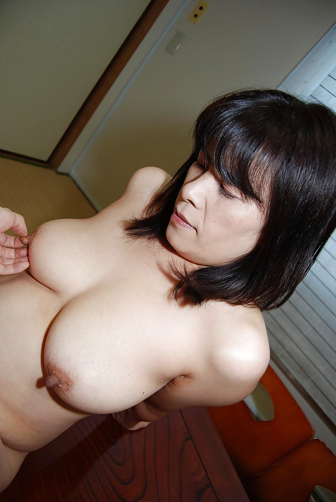 Asian milf big natural tits