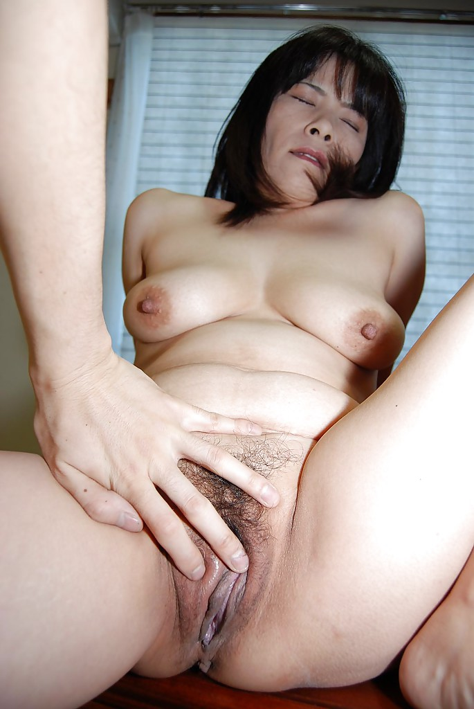 Asian mature big tits