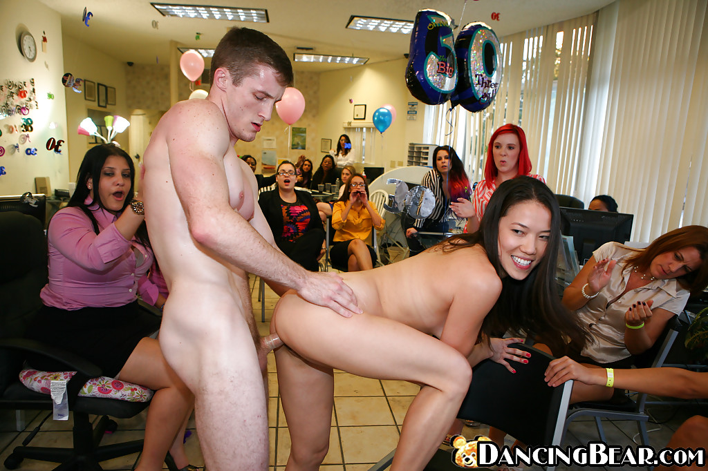 Orgy in the office