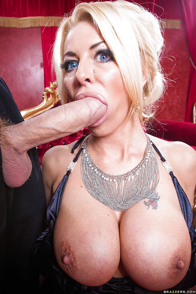 Blonde milf sucking black cock apologise