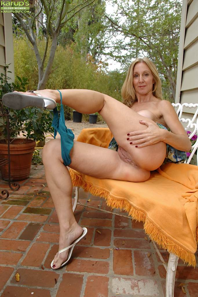Be. Grandma outdoors slut