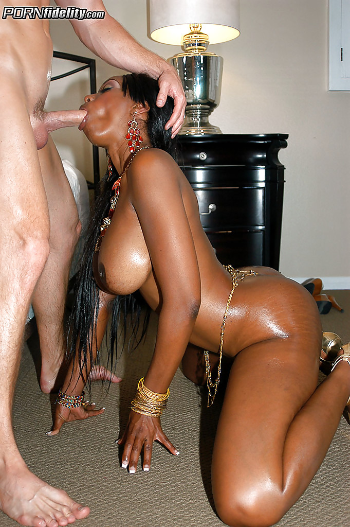 Ebony chic fucked on the pitch