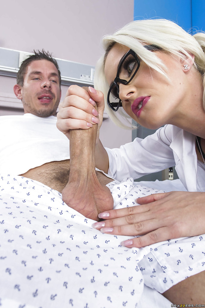 nurse surprised by big cock