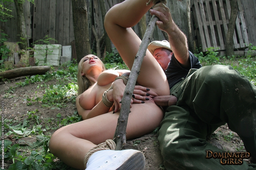 Big Titted Female Play in an hardcore bdsm