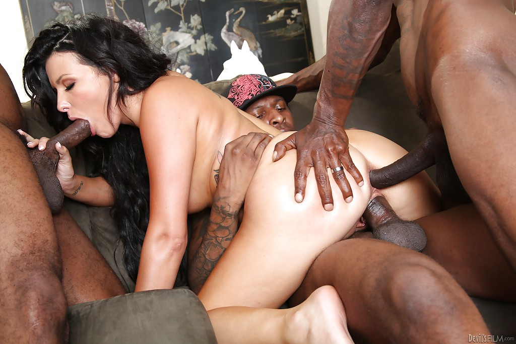 Aleska diamond enjoying a fat cock inside her 9