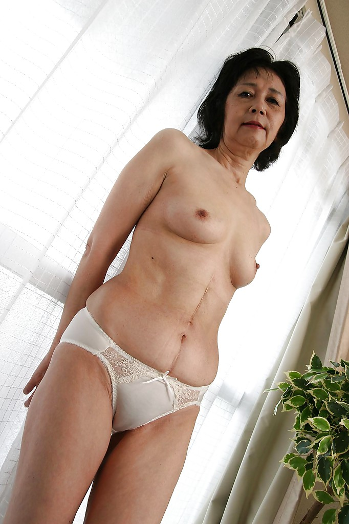 Hairy asian mom