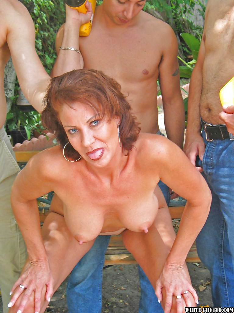 Group sex with big tits