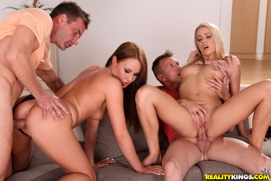 Here Two couples having sex together