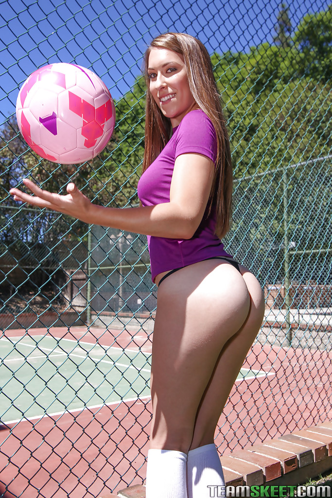 Kimber lee soccer ball