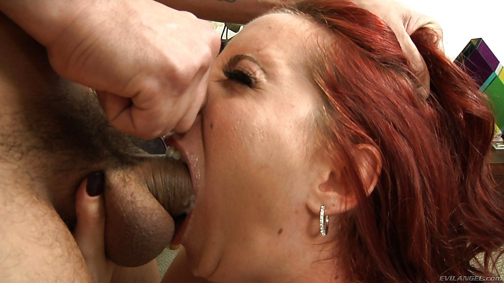 Redhead beauty fucking swallowing regret, that