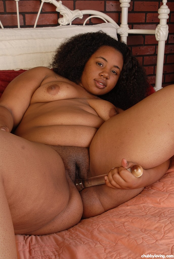 Fat chubby black pussy you