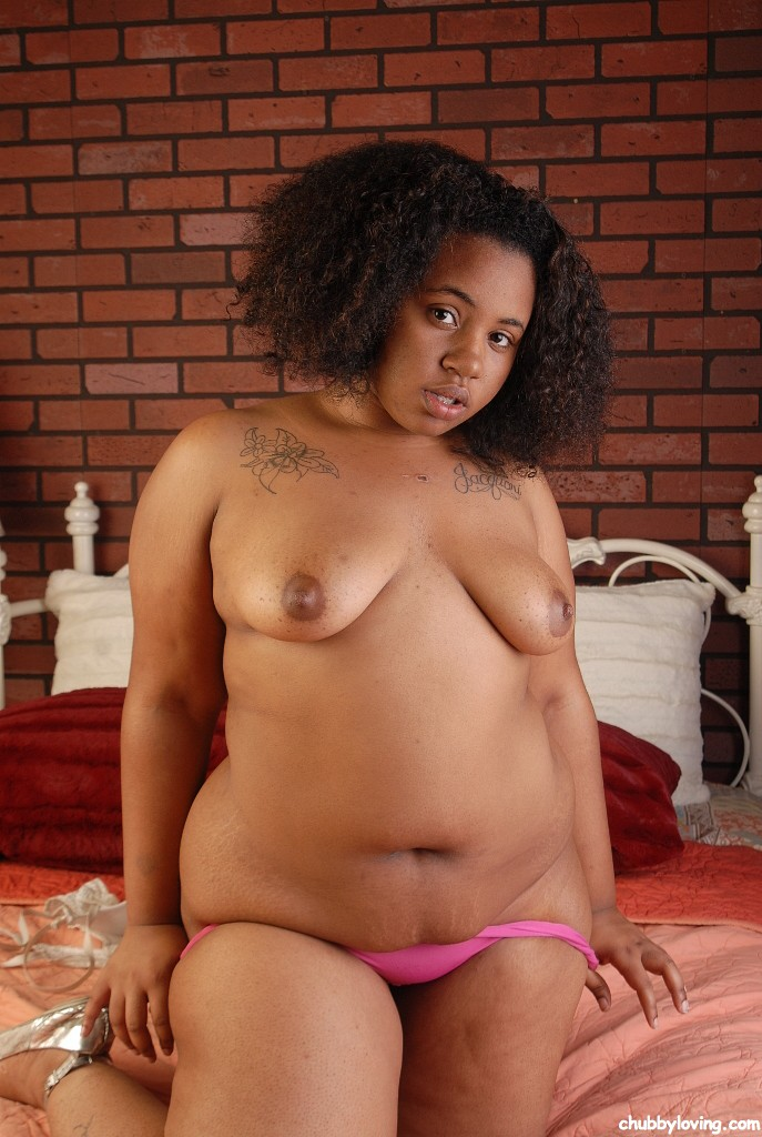 Chubby ebony girl for the