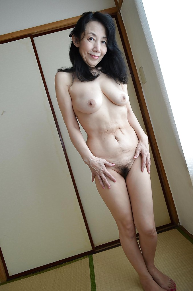 mature asians hairy