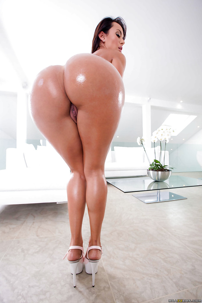 Big Booty Ass Oiled