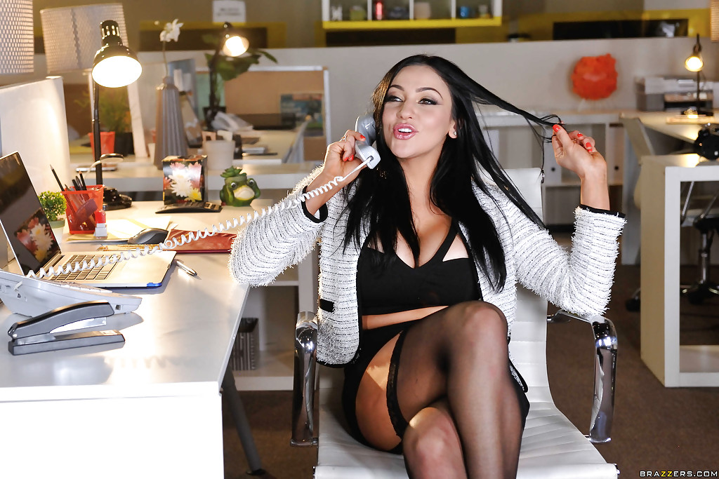 Wish audrey bitoni big tits at work the