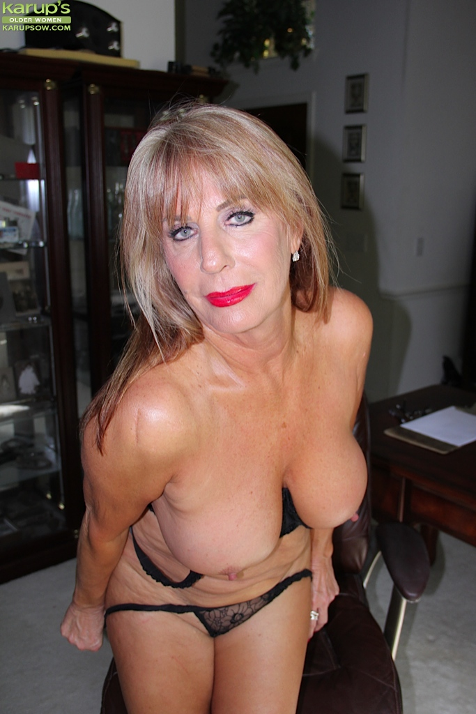 With you naked busty mature milf