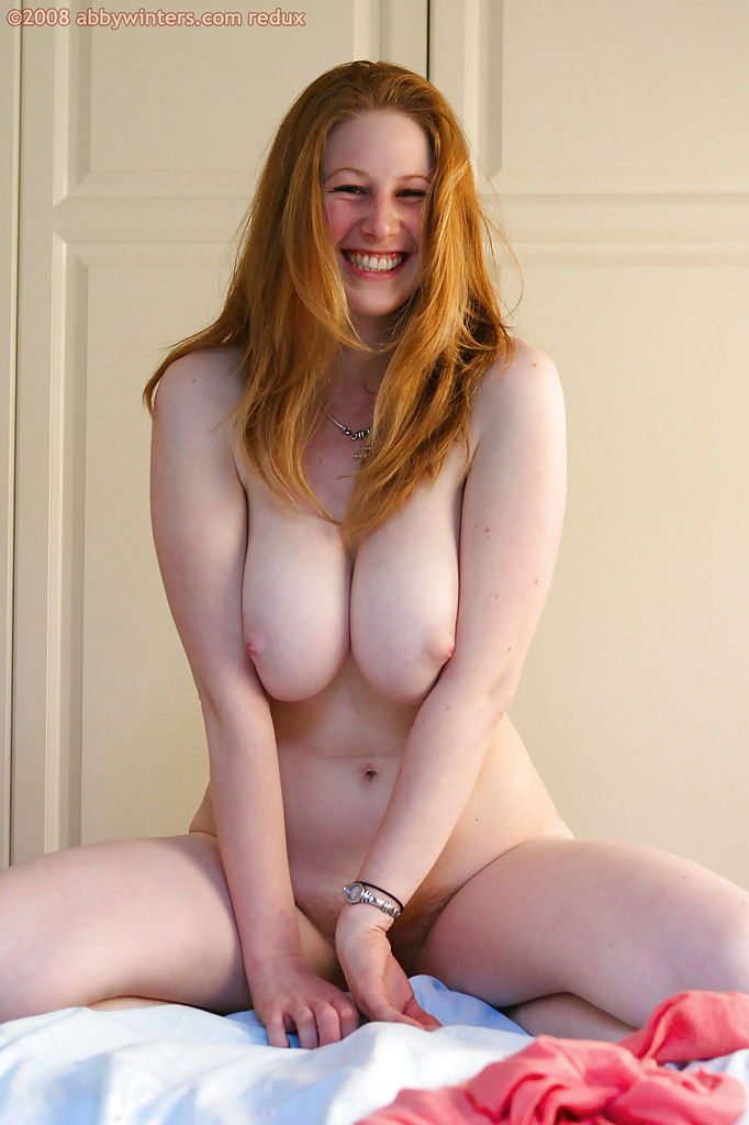 All busty natural redhead erotic clips