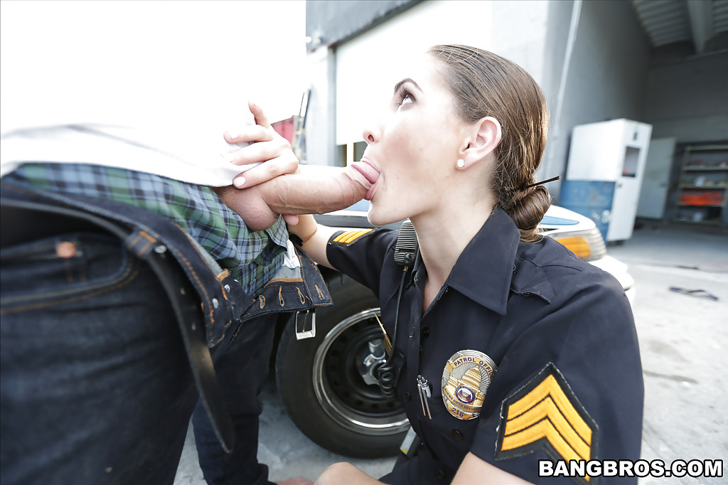 image Gay cop naked bj get romped by the police