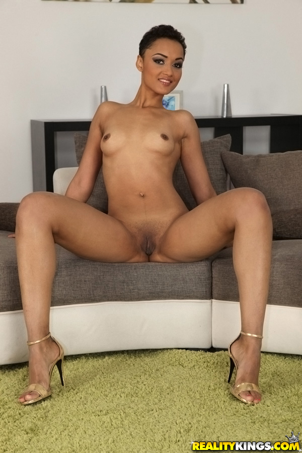 sexy mixed race model naked
