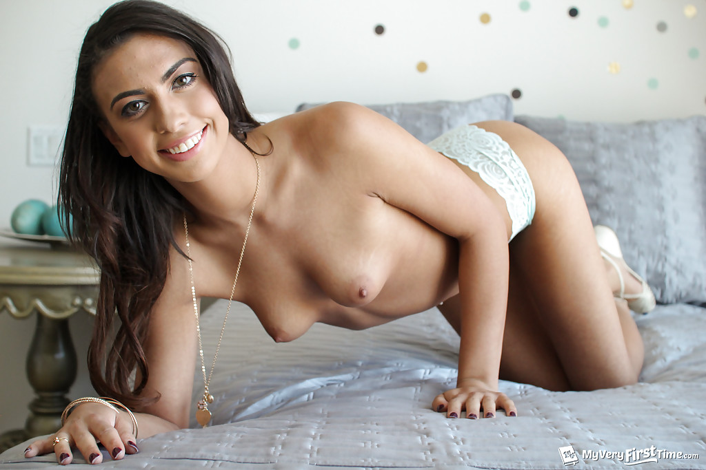 Magnificent Mixed race babe boobs nude speaking