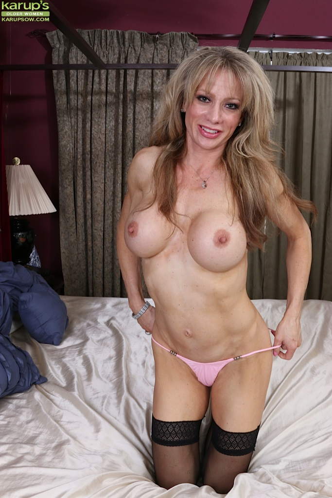 Opinion you Mature milf lingerie model similar