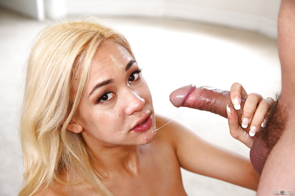 image Mila blaze giving a blowjob pov and swallowing
