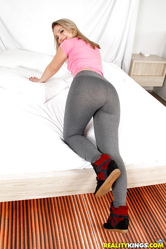 sexy possy in yoga pants