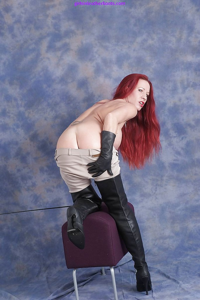 Gloves redhead leather apologise, but