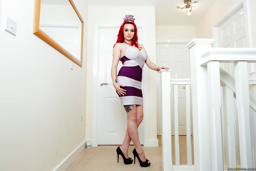 What redheads have been featured on