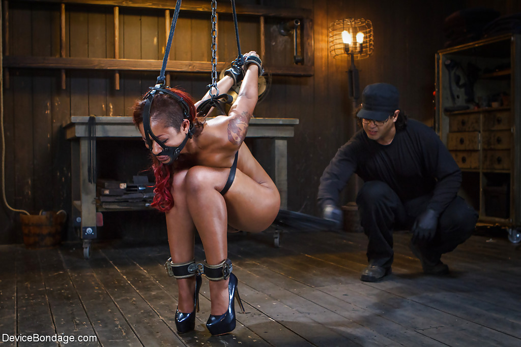 Girls getting fucked with bondage