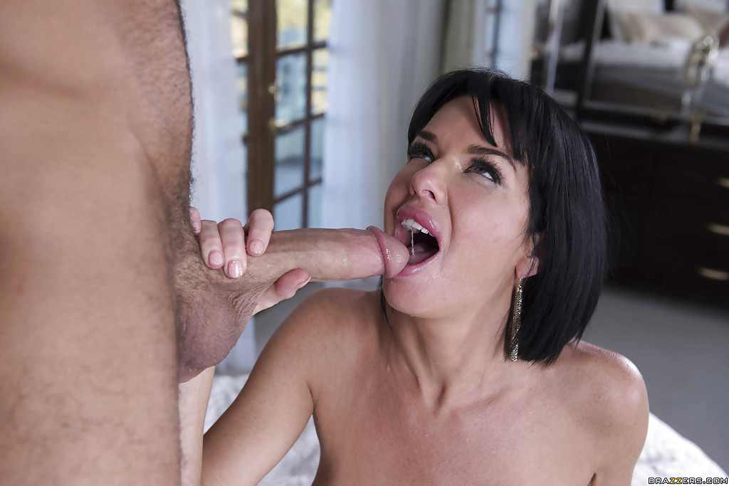 Think, Mom gives blowjob are