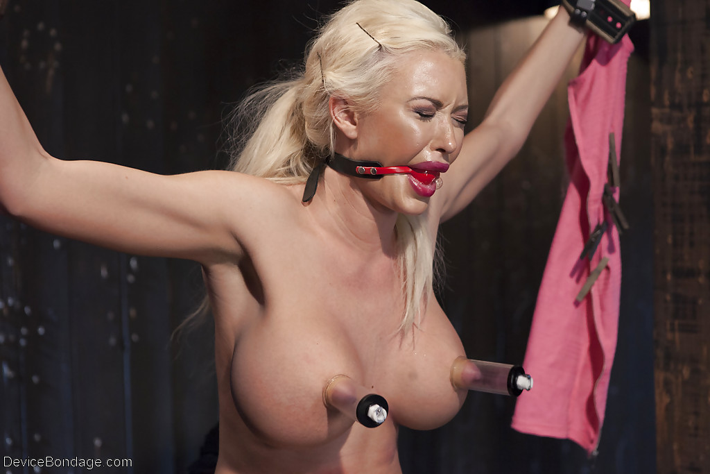 Bdsm blonde busty