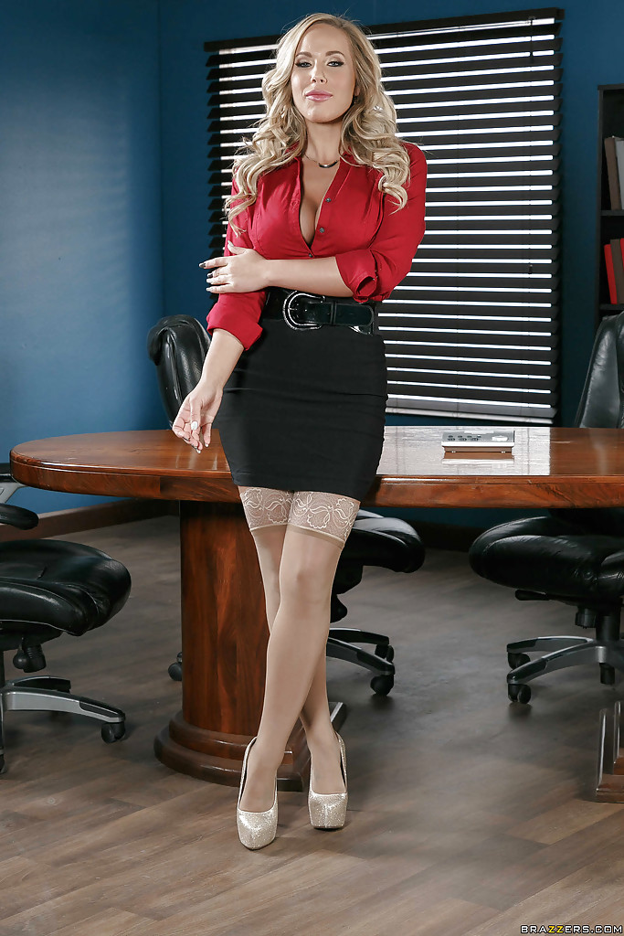 Brazzers blond busty secretary alexis ford fucks her boss - 2 part 4