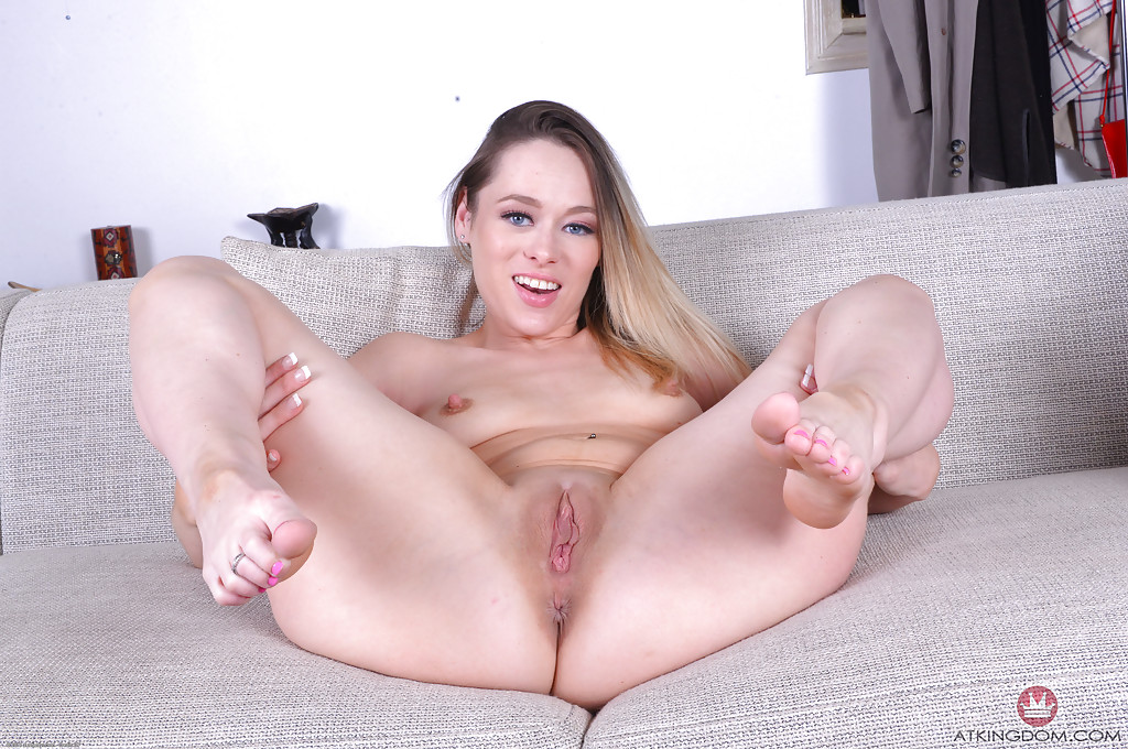 Milf Babe Rebecca Blue Spreading Shaved Pussy For Up Close