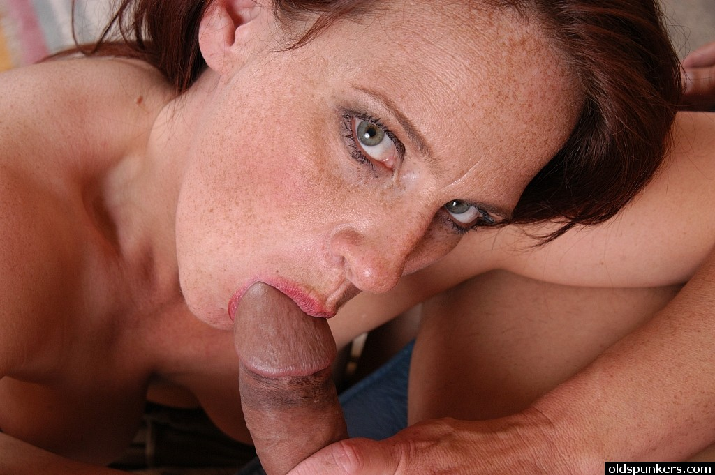 Freckle faced blowjob girls pictures