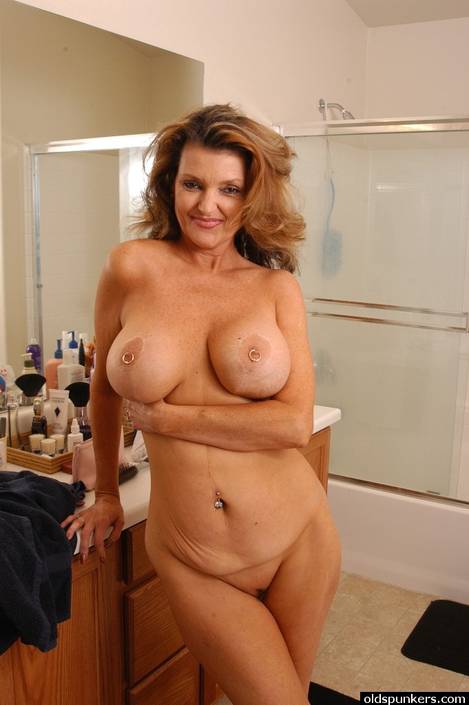 Doubtful. Huge melons chubby mature women