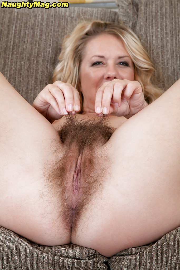 You have blonde hairy mature milfs