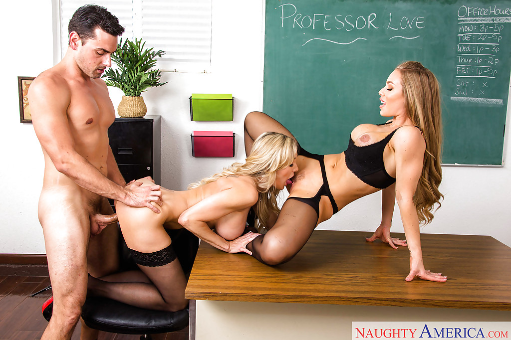 My first sex teacher threesome